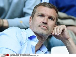 Thomas von Heesen (designierter Aufsichtsrat) Fussball, Hamburger SV, Ordentliche Mitgliederversammlung 2014